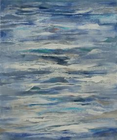 Inner Sea 1, oil o nlinen, 67 x 57cm, 2008 - SOLD