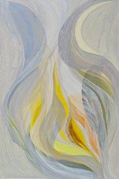 Veiled Light 1 , oil on canvas, 2011, 120 x 80cm - SOLD