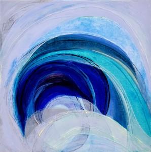Akasha 4 - oil on canvas - 50cm x 50cm - 2013