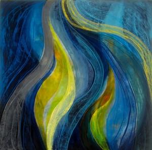 Deep Energy 1 - 100 x 100cm - oil on canvas - 2013