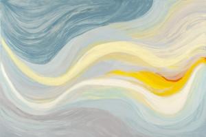 Flow 5 - oil on linen - 80 x 120cm - 2013
