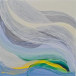 Inner Energy 6 - oil on canvas, 30 x 30cm 2011