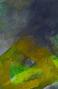 Inner Landscape 2, mixed media 33 x 27cm, 2009