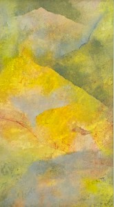 Inner Landscape 6, framed, 2006 mixed media