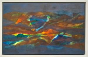 Inner Light, oil on canvas, framed, 55 x 85cm, 2007
