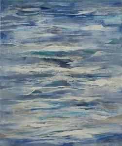 Inner Sea 1, oil on linen, 67 x 57cm, 2008
