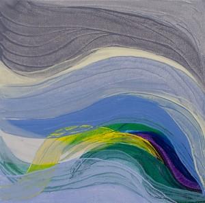 Inn erenergy 4, 2011, oil on canvas, 30 x 30cm