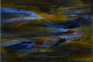 Mystery Light, oil on linen 40 x 60cm, 2007