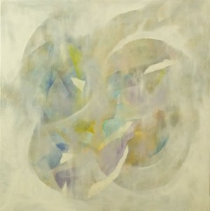 Transient 2, oil on linen, 70x70cm, 2007