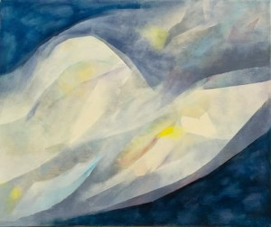 Transient Wave , oil on linen, 2008, 57 x 67cm