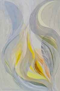 Veiled Light 1, oil on canvas, 120 x 80 cm, 2011