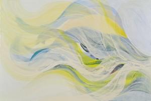 Veiled Light 3, oil on canvas, 2011, 80 x 120cm