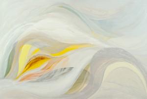 Veiled Light 4 - oil on canvas - 80 x 120cm - 2012