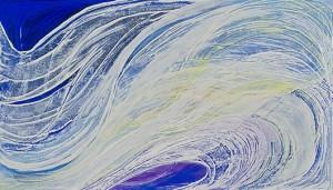 Wave, oil on canvas, 40cmx70cm 2010